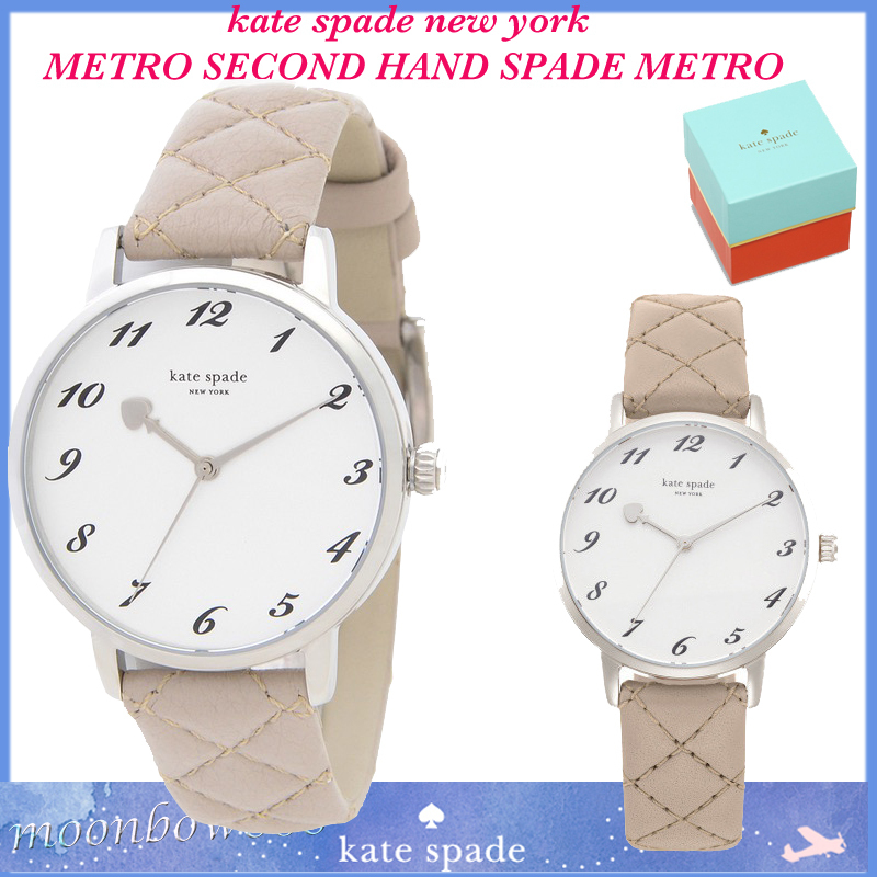 【SALE☆NEW☆人気】 kate spade METRO SECOND HAND SPADE METRO
