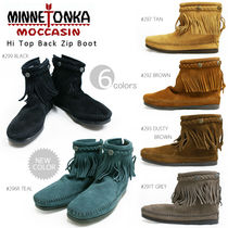 ■即納■MINNETONKA【ミネトンカ】HI TOP BACK ZIP BOOT