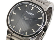 ニクソン NIXON CAPITAL 腕時計 A090-479 ANTIQUE SILVER BLACK