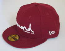 ダイヤモンドサプライ×NEW ERA C15DHE03 OG SCRIPT FITTED BUR
