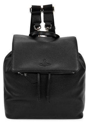 ♢VIVIENNE WESTWOOD♢grained leather backpack