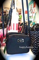 【kate spade】新!軽いナイロン製mindy blake avenue☆ブラック