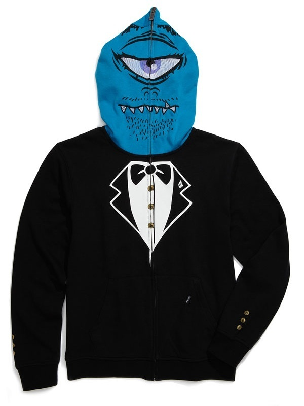 volcom fear ボルコム One-Eyed Monster Mask パーカー