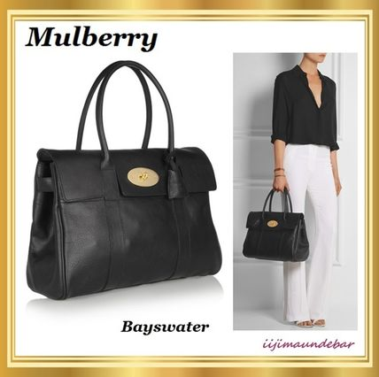 Mulberry トートバッグ 【国内発送】Mulberry マルベリー/Bayswater/トートバッグ