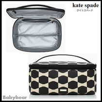 【kate spade】関税保証☆ bow tile large marit コスメケース