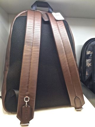 Coach バックパック・リュック 【Coach】上質レザーCampus backpack in leather/F72120(15)