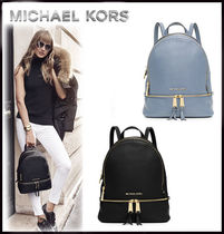 MICHAEL KORS ★ RHEA SMALL LEATHER BACKPACK 国内発送!