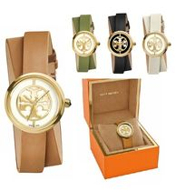 【関税送料込☆特価】Tory Burch REVA DOUBLE WRAP WATCH28 MM