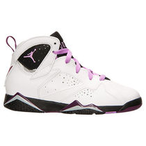 FW15 AIR JORDAN RETRO 7 PS WHITE FUCHSIA 17-22cm 送料無料