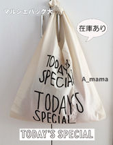TODAY'S SPECIAL(トゥデイズスペシャル) トートバッグ 【即発・送料込】TODAY'S SPECIAL  正規品 マルシェバッグ(大)