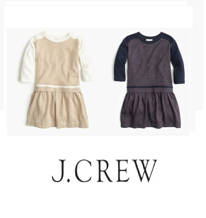 【国内発送】☆J Crew☆Girls☆大人もOK☆sparkle jersey dress