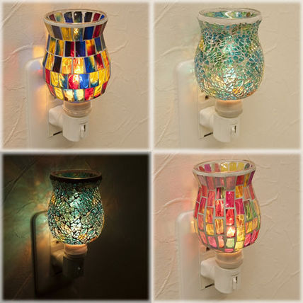 ♦ and mill glass mosaic concentric Trump pot