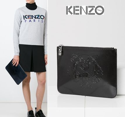 KENZO パリ発★クラッチ*メタリックタイガー*2色*2015AW