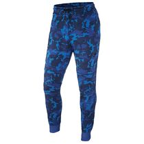 FW15 NIKE MEN'S TECH FLEECE PANTS CAMO BLUE XS-3XL 送料無料