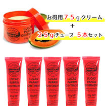【LUCAS' PAPAW OINTMENT】25g 5本+75g 1個セット
