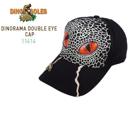人気♪DINOSOLES★DINORAMA DOUBLE EYECAP(11414 )★ 正規品