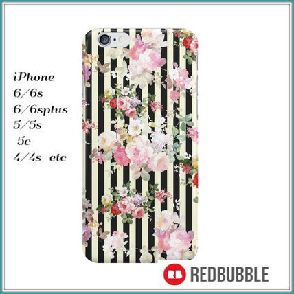 【送料込み】 RED BUBBLE black yellow stripes iPhoneケース