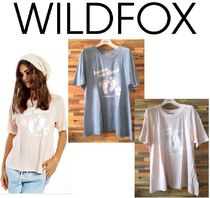 Wildfox Couture(ワイルドフォックスクチュール) Tシャツ・カットソー 国内発送・即納[WILDFOX]Barefoot Club PERFECT Tシャツサーフ