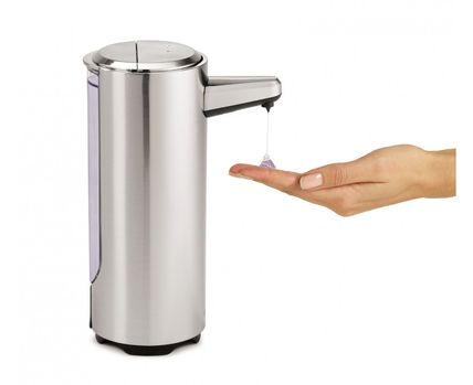 SOAP refill container automatic pump sensor with hygiene of