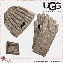 UGG Australia Men's Hat and Glove クリスマスギフトセット