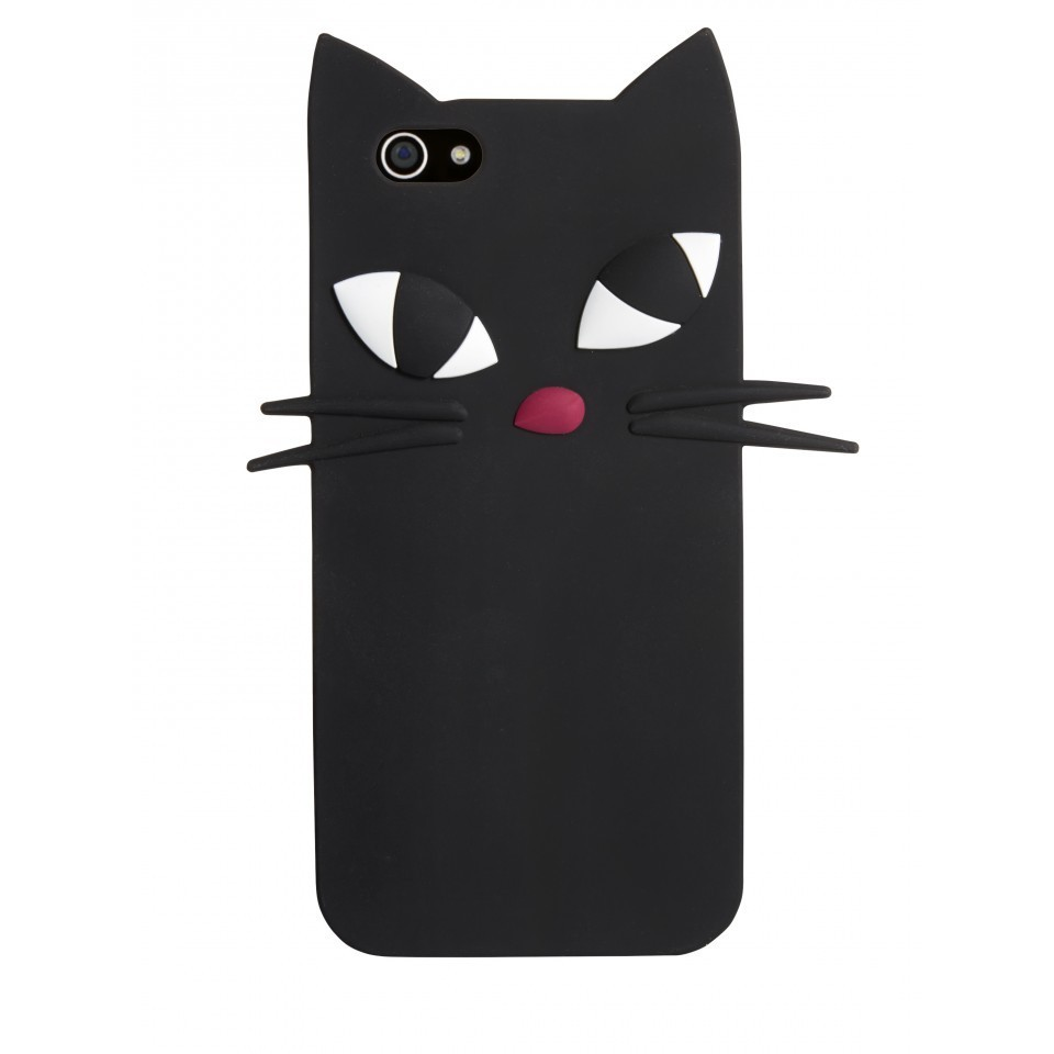 "☆2015/16秋冬新作☆【Lulu Guinness】""KookyCat""iPhone6ケース"