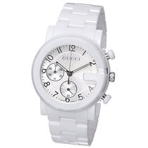 ★ヤマト便発送★GUCCI G-Chrono White Ceramic Watch YA101353