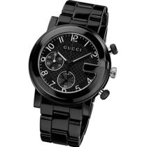 ★ヤマト便発送★GUCCI G-Chrono Black Ceramic Watch YA101352