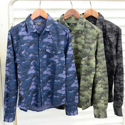 Camo camouflage flannel shirt brushed autumn/winter