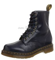 【Dr.Martens】 PASCAL  8ホール レースアップブーツ Dress Blue