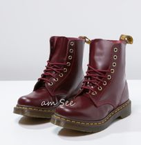 【Dr.Martens】 PASCAL  8ホール レースアップブーツ Cherry