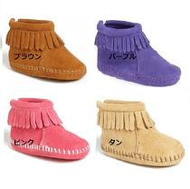 Minnetonka kids★Infant Back Flap Bootie:11.5-15.5㎝