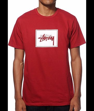【送料無料】Stussy Stock Box T-Shirt ☆ Tシャツ