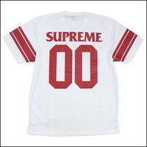 SUPREME × ANTI HERO 14SS Football Top 白 (ステッカー付き)