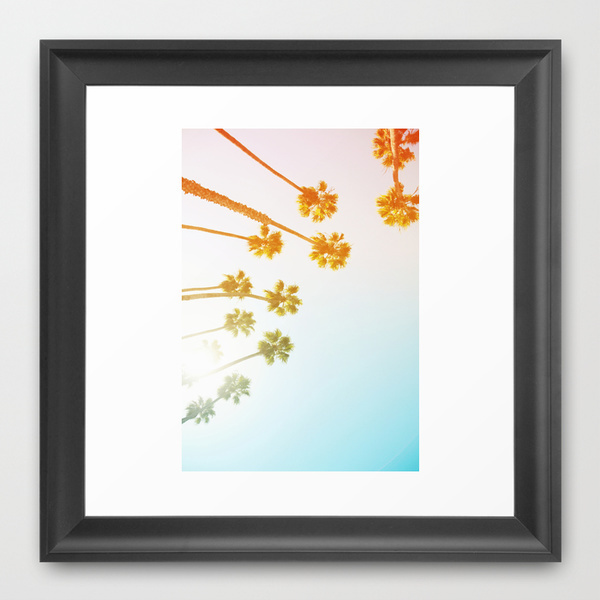 Society6◆額入りアートプリント◆California by Ez Pudewa