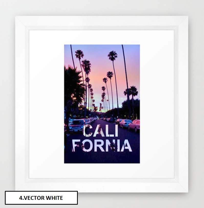 Society6◆額入りアートプリント◆CaliforniA by ''B OGiatzi.