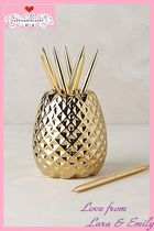 15AW*最安値保証*国内発送【Anthro】Pineapple Pencil Holder