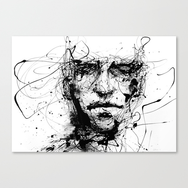 Society6◆スケッチキャンバス◆lines hold the memories by