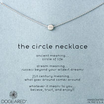 Dogeared(ドギャード) The Circle Necklace ネックレス シルバー