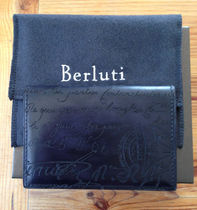 Berluti IMBUIA BUSINESS CARD HOLDER