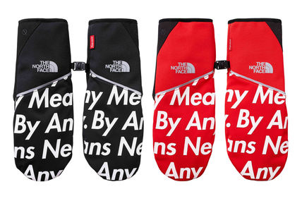 15A/W Supreme The North Face Winter Runners Glove
