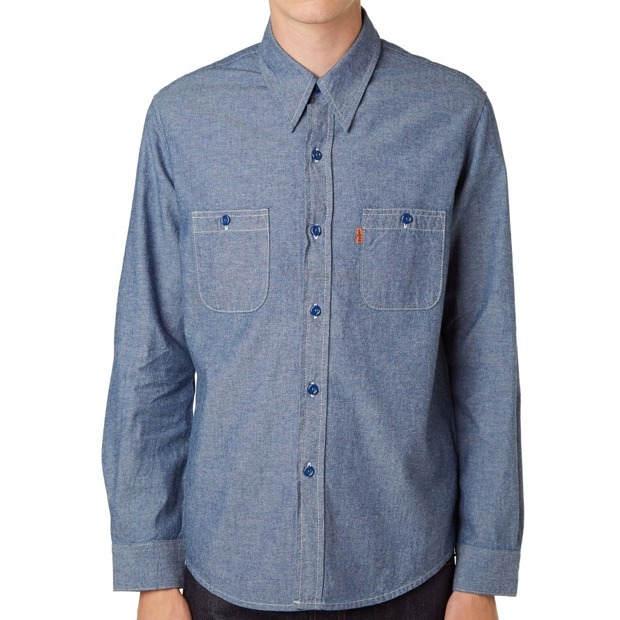 【即発送料込】Levi's Vintage Clothing 1960'S CHAMBRAY SHIRT!
