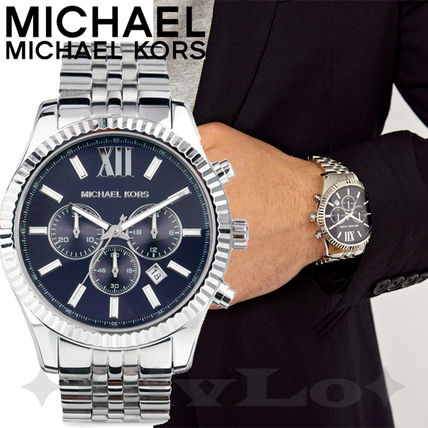 Michael Kors アナログ時計 【MKメンズ時計】Lexington Chronograph MK8280