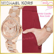 【日本未入荷 SALE☆】MICHAEL KORS  Petite Camille Rose Gold