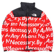 Supreme x The North Face Nuptse Jacket 赤 MEDIUM OR LARGE