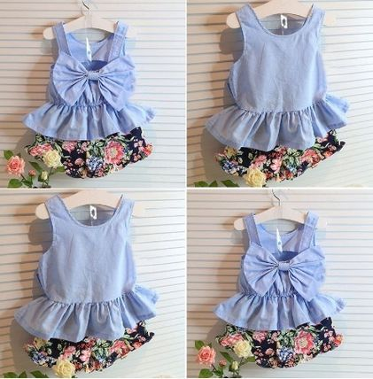 Cute and trendy top and bottom set 2 to 8 years old