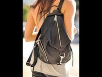 ★短期セール ★Rebecca Minkoff Julian Backpack Black/Silver