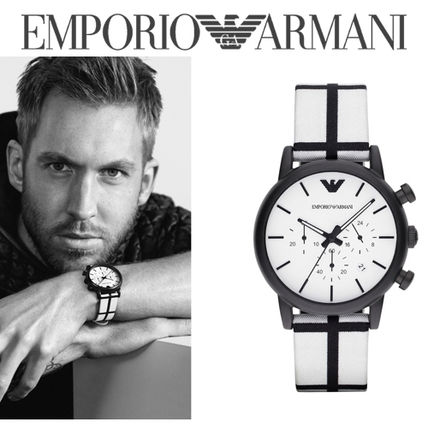 "U.S.A from EMPORIO ARMANI ""AR1859."""