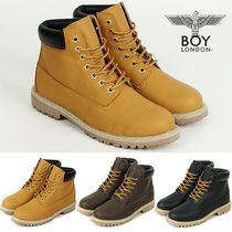 BOY LONDON★B133 TIMBER WALKER BOOTS★安心追跡発送