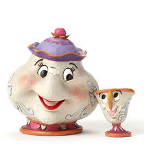 "Disney ★Mrs. Potts and Chip ""A Mother's love ""by Jim Shore"