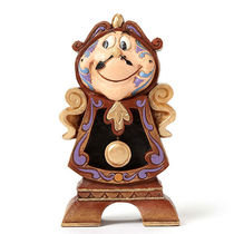 "Disney ★B Beast Cogsworth ""Keeping Watch ""by Jim Shore"